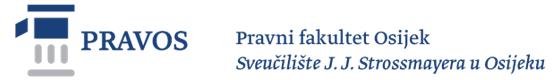 Pravni fakultet Osijek Logo