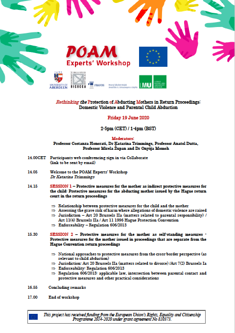 POAM Experts' Workshop