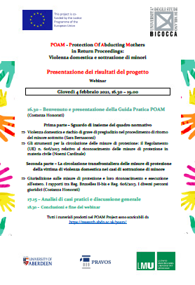Italian Training Workshops – POAM Best Practice Guide