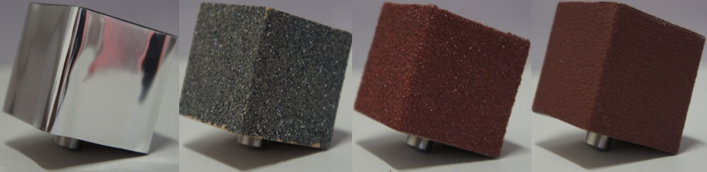 Materials with different surface properties